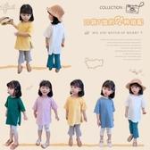 *╮小衣衫S13╭*女童好穿日系薄款短袖兩側開岔T恤1090513