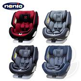 NANIA 納尼亞 納歐360度旋轉0-12歲 Isofix 汽車安全座椅 - 紅/灰/黑/藍【佳兒園婦幼館】