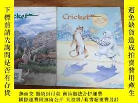二手書博民逛書店罕見CRICKET(2本合售)Y12800 BESLIE H.M