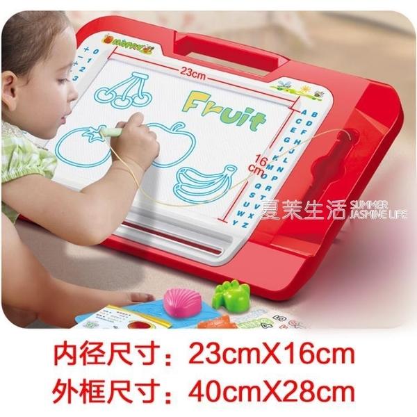 寫字板 伸縮支架 兒童磁性寫字板 涂鴉板 寶寶繪畫板可擦寫彩色磁性畫板·快速出貨YTL