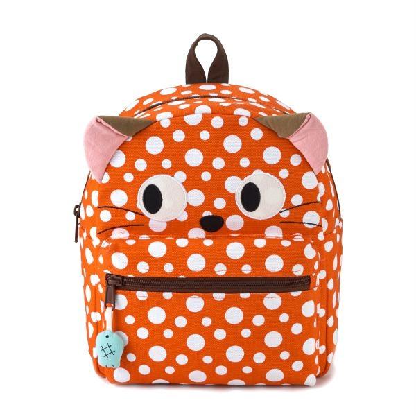 賊賊貓橘子氣泡後背包/手提包/拼布包包