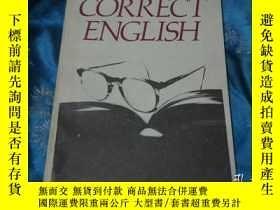 二手書博民逛書店A罕見Concise Dictionary of Correct