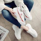平底鞋 女夏韓版百搭新款春透氣網鞋休閒鞋運動鞋《小師妹》sm2341