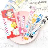 【日貨Sarasa Select Peko牛奶妹原子筆套組】Norns 限量版 五色筆管 附筆芯 Zebra 彩色中性筆
