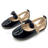 《7+1童鞋》專櫃款 普萊米 PRIVATE 蝴蝶結 優雅女伶 氣質涼鞋 E147 黑色