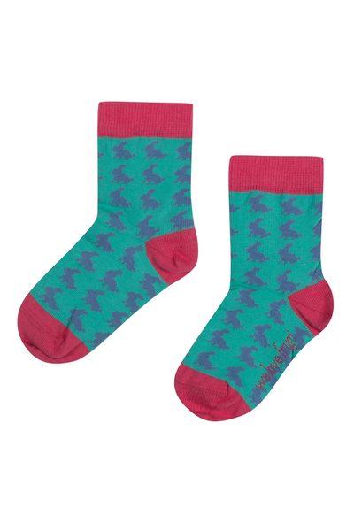 【英國Frugi】有機棉童襪3雙組 - 可愛小貓咪系列 ACS515