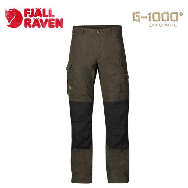 瑞典 Fjallraven Barents Pro Trousers G-1000 防潑水休閒耐磨長褲 男款 深橄欖 #81761