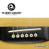 【小新的吉他館】PlanetWaves ABS 強化性硬質弦栓 (白色+黑點)PWPS12