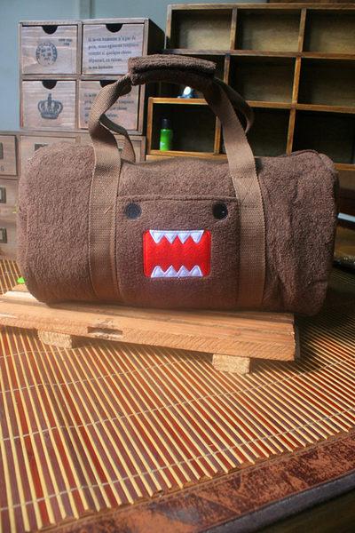 【發現。好貨】日本DOMO多摩君 卡通旅行包 手提包 側背包