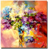 花卉裝飾畫現代 手繪油畫玄關走廊掛畫歐式客廳背景墻壁畫無框畫 igo克萊爾