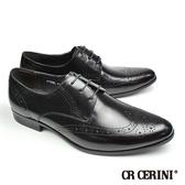 【CR CERINI】雕花時尚德比紳士鞋 黑色(81091-BL)