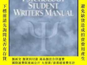 二手書博民逛書店Psychology罕見Student Writer s Man