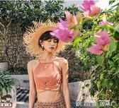 游泳衣女ins風  泳衣女三件套韓國溫泉小香風分體遮愛麗絲精品
