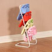 簡約歐式鐵藝拖鞋架 室內浴室宿舍鞋架 多層創意掛式 限時八五折