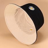 漁夫帽 雙面漁夫帽女夏季網紅太陽帽子男韓版潮時尚百搭日系遮陽帽防曬臉 歐歐