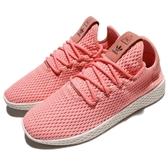 【四折特賣】adidas 休閒鞋 PW Tennis HU 粉紅 白 聯名款 男鞋小尺寸 女鞋【PUMP306】 BY8715