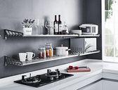304不銹鋼廚房置物架 壁掛式烤箱架子