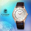 CASIO 手錶專賣店   CITIZEN 星辰 BJ6483-01A  男錶 光動能 小牛皮錶帶   防水 礦物鏡面
