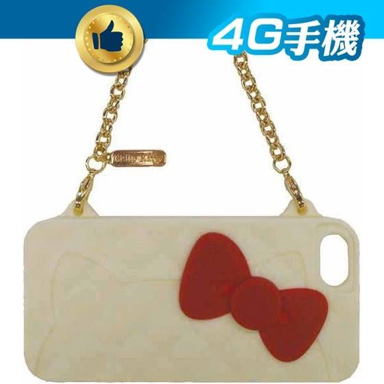 出清 Hello Kitty 晚宴包 保護套 iPhone 5 蘋果 保護 手鍊 收藏 卡哇伊 日本 GD 【賣貴請告知】