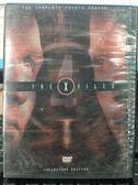 影音專賣店-R28-正版DVD-歐美影集【X檔案 第4季/第四季 全7碟】-(直購價)