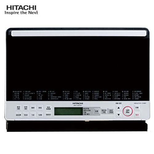 HITACHI日立 31L 水蒸氣烘烤微波爐MROS800XTW-白【愛買】
