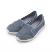 HUSH PUPPIES 玩色幾何輕量便鞋 湖藍 6183W115943 女鞋