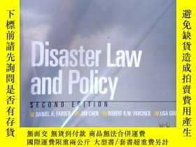 二手書博民逛書店Disaster罕見Law and Policy, Second