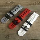 適合Garmin3 Fenix3/2錶帶 飛耐時3/2 天然硅膠錶帶 26mm橡膠錶帶