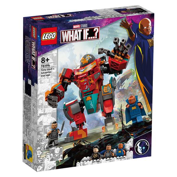 LEGO樂高 76194 Tony Stark's Sakaarian Iron Man 玩具反斗城