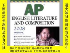 二手書博民逛書店Barrons罕見Ap English Literature A