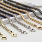 蛇骨鏈條包包五金配件帶女包鏈條帶單買金屬鏈子斜跨包帶子時尚潮第七公社