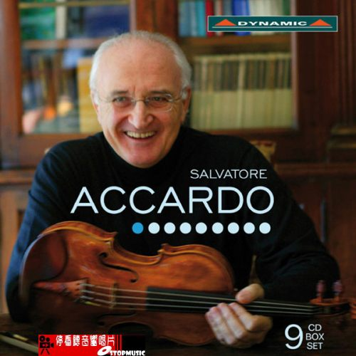 停看聽音響唱片】【CD】魔鬼帕格尼尼的第一把交椅 - 阿卡多的絕世琴藝 (9 CD)