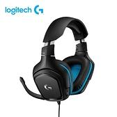 [富廉網]【Logitech】羅技 G431 7.1 聲道 環繞音效 電競耳機麥克風