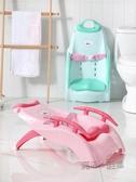 加厚兒童洗頭躺椅寶寶洗頭發神器小孩洗頭床可摺疊坐躺家用洗發椅  ATF  魔法鞋櫃