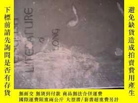 二手書博民逛書店ENGLISH罕見LITERATURE (1919年英文原版)·