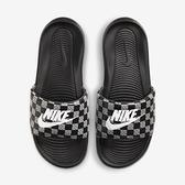 Nike Victori One Slide Print [CN9678-004] 男鞋 運動 休閒 拖鞋 涼鞋 黑