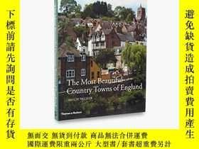 二手書博民逛書店The罕見Most Beautiful Country Towns Of EnglandY256260 Hug