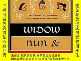 二手書博民逛書店Widow,罕見Nun and CourtesanY28384