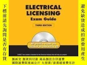 二手書博民逛書店Dewalt罕見Electrical Licensing Exam Guide Based On The Nec