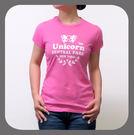 UNICORN網上購物美國棉T恤優惠-時尚派對系列-蜜桃紅色-3140001-514