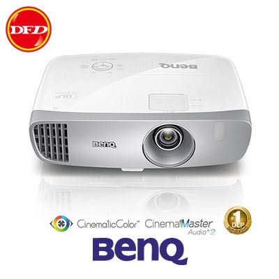 BenQ 投影機 W1120 電玩側投色準三坪機  公司貨
