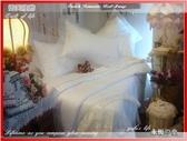 yufu's life -『永恆の愛』*╮六件式專櫃法國高級雪紡紗床罩組6*6.2尺(內束以席夢思床墊高度為主)