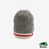 ROOTS配件- 溫馨佳節針織帽-灰