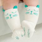 童襪 貓咪耳朵兒童中筒襪