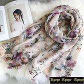 絲巾 波西米亞民族風絲巾女防曬披肩海邊絲巾
