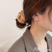 純銀仿珍珠耳釘女韓國2020年耳環2019新款潮耳飾氣質網紅耳墜百搭 范思蓮恩