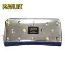 【日本正版】史努比 皮質 長夾 皮夾 錢包 Snoopy PEANUTS - 257159