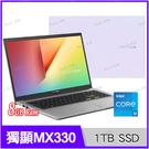 華碩 ASUS X513EP 幻彩白 1...