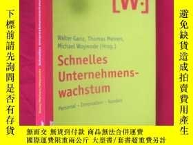 二手書博民逛書店Schnelles罕見Unternehmenswachstum (小16開) 【詳見圖】Y5460 Kohl