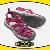 【KEEN 美國 女 護趾涼鞋《酒紅/灰》】1012229/快乾/防水/水陸兩用鞋/涼鞋/休閒涼鞋★滿額送